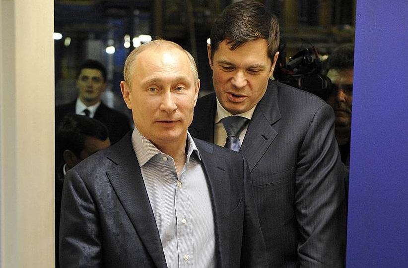 Встреча Мордашова и Путина: для целлюлозного комбината в Череповецком районе выделили землю