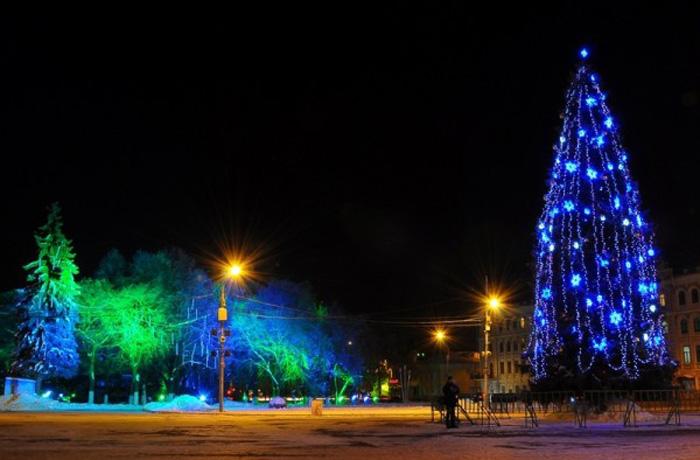 Дата кражи новогодних украшений в Вологде неизвестна