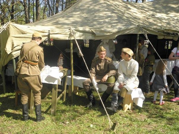 «На линии фронта. Год 43»: военно-историческая реконструкция прошла в Вологде