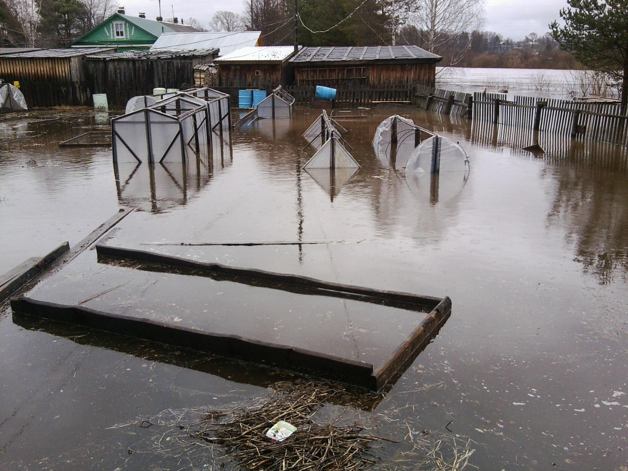 Жители подтопленных домов в Никольске отказываются от эвакуации