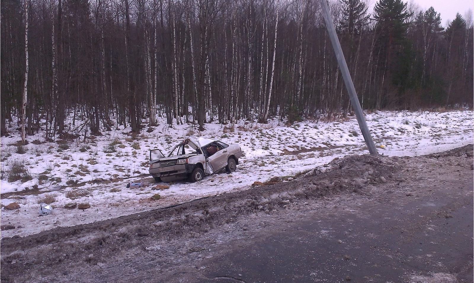 В больнице скончалась вологжанка, попавшая в ДТП на трассе Москва – Архангельск