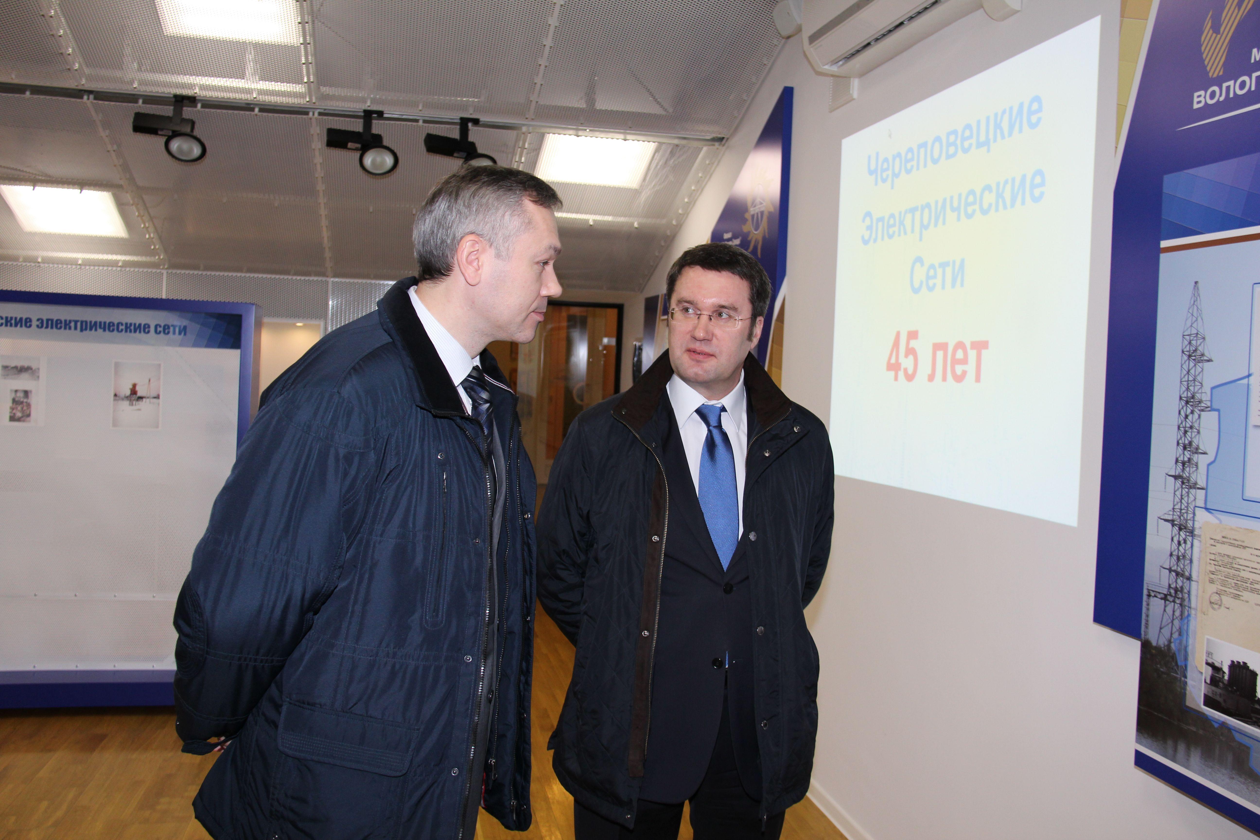 Филиал МРСК Северо-Запада «Вологдаэнерго» официально открыл музей сетевой компании