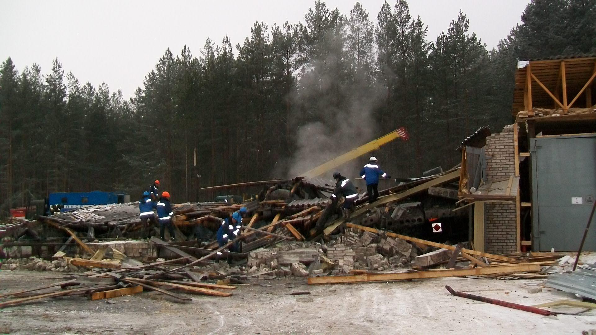 В Чагоде решается вопрос о транспортировке пострадавших от взрыва в Череповец