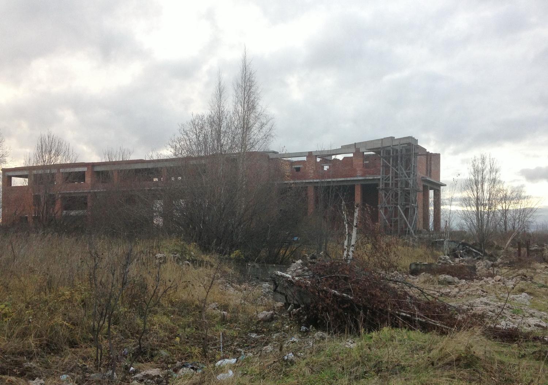 Недостроенная диагностическая станция ГИБДД выставлена на торги в Вологде