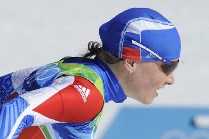 Юлия Чекалёва стала лучшей среди россиянок в женском скиатлоне на Олимпиаде в Сочи