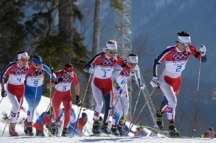 Юлия Чекалёва помогла сборной России занять 6 место в лыжной эстафете на Олимпиаде