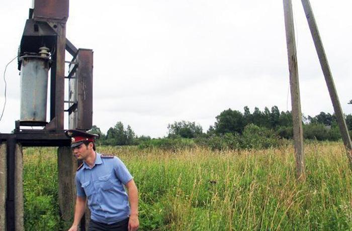 Филиал МРСК Северо-Запада «Вологдаэнерго» берет под особый контроль ситуацию с участившимися хищениями провода с энергообъектов