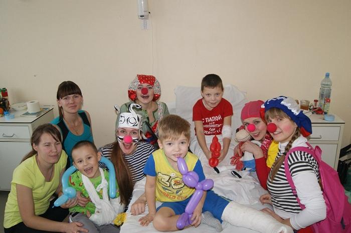 Больничные клоуны: «Дети ждут нас с нетерпением!»