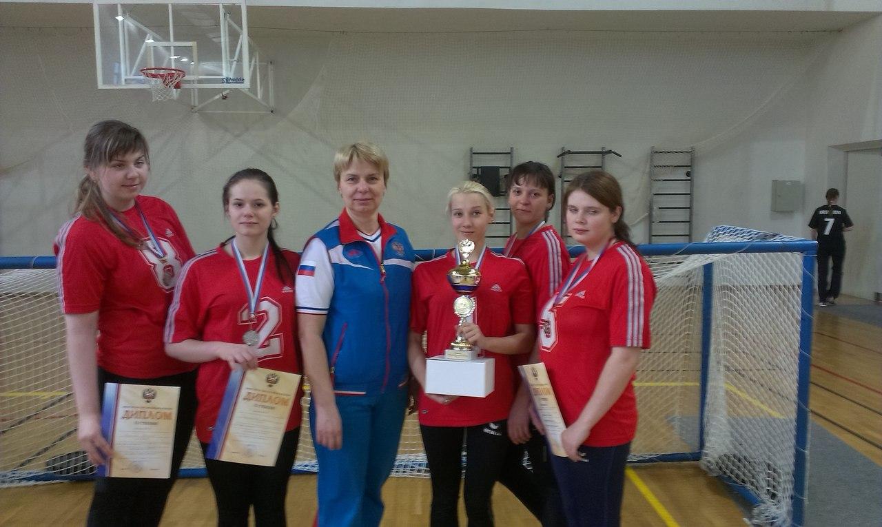 Вологодские голболистки завоевали «серебро» на Чемпионате России