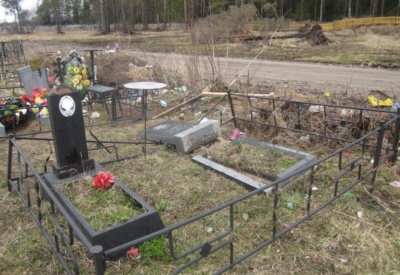 Подростки устроили погром на кладбище в Вологодской области