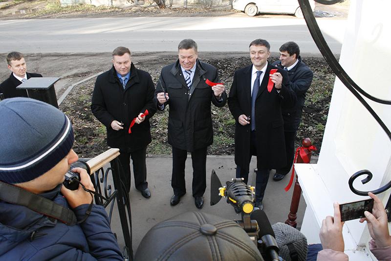 В Великом Устюге открылся новый офис ООО «Газпром межрегионгаз Вологда», в котором можно решить абсолютно все газовые вопросы