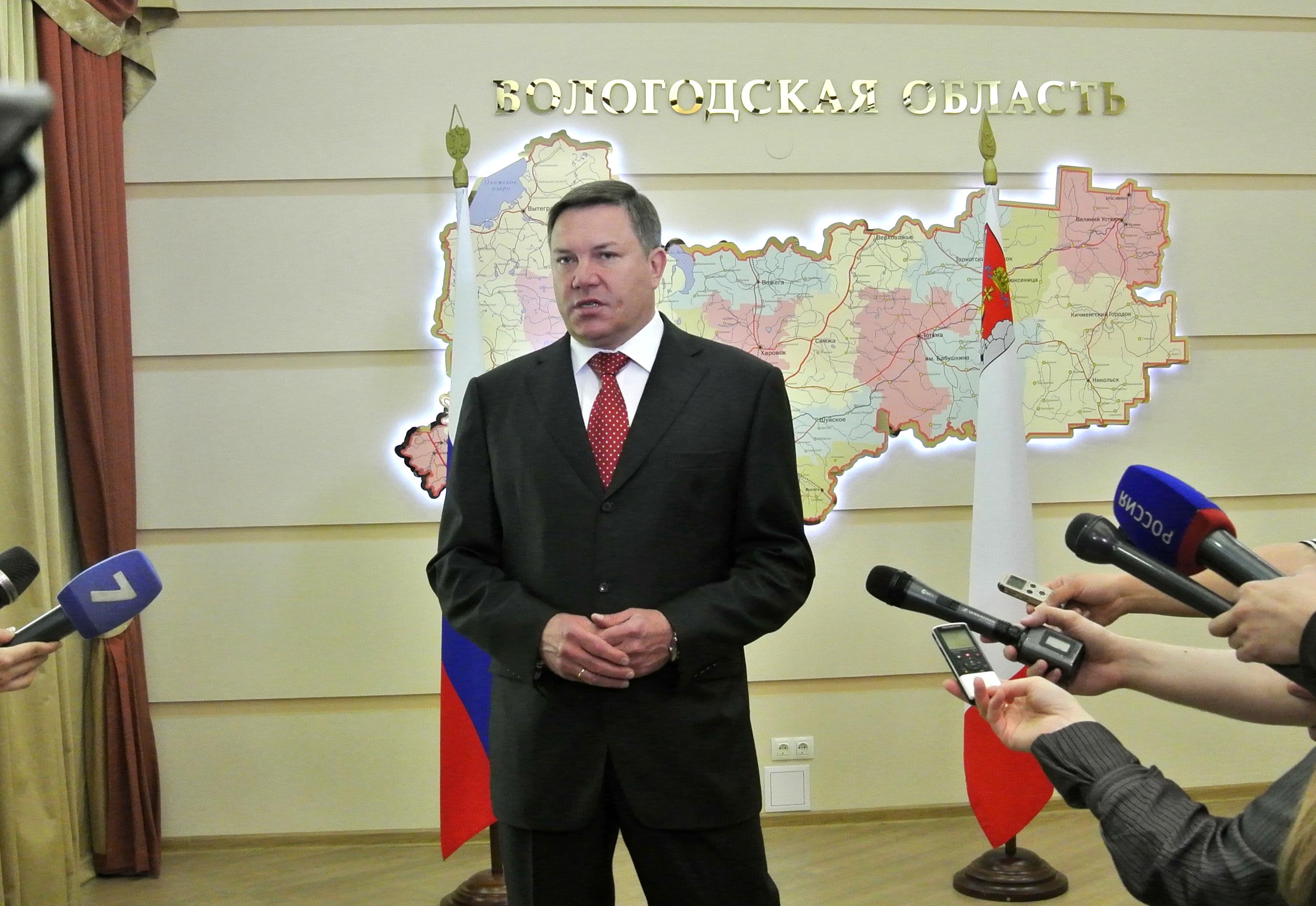 Олег Кувшинников опроверг слухи и рассказал об отставке с поста губернатора Вологодской области