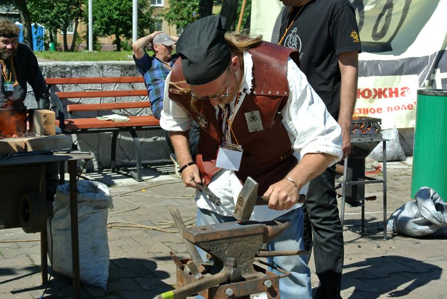 Кузнечный фестиваль прошёл в Череповце