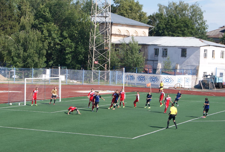 Вологодские футболисты проиграли в финале Кубка «Золотое кольцо»