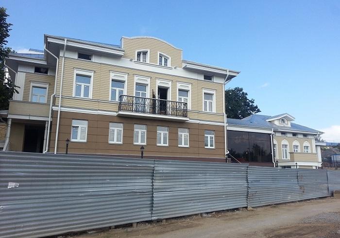 Новая гостиница откроется на набережной Вологды этой осенью