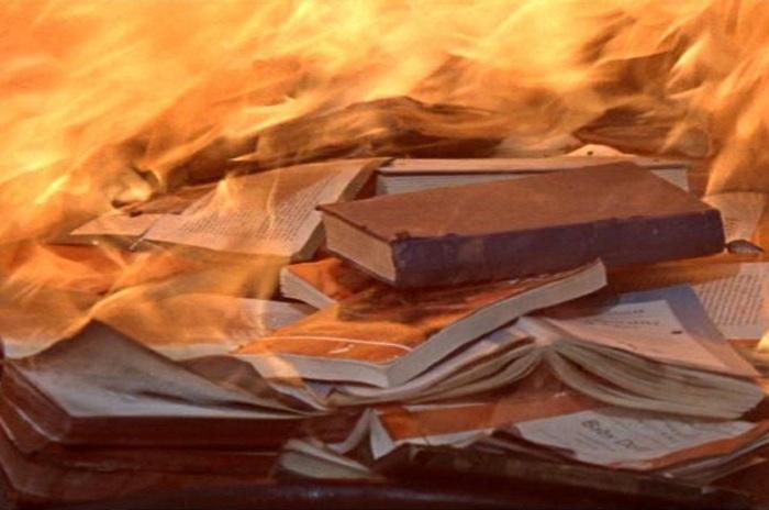 В Вологодской области подростки сожгли здание заброшенной сельской библиотеки