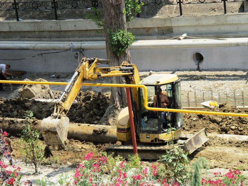 В Череповце во время земляных работ повредили газопровод