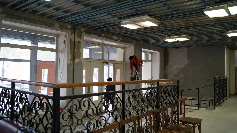 Ремонт в госпитале для ветеранов в Вологде планируют завершить к маю 2015 года