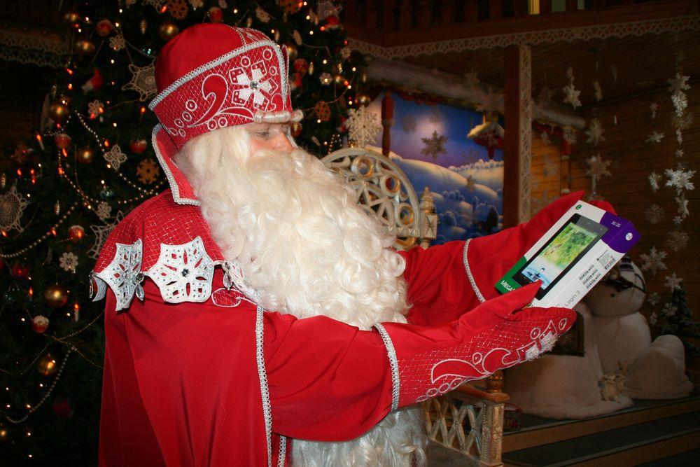 «МегаФон» поздравил Деда Мороза с днем рождения