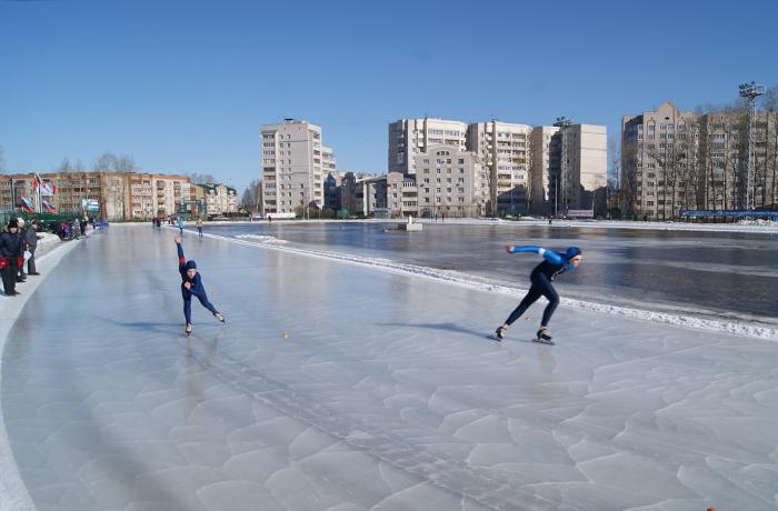 Всероссийские соревнования по конькобежному спорту пройдут в Вологде