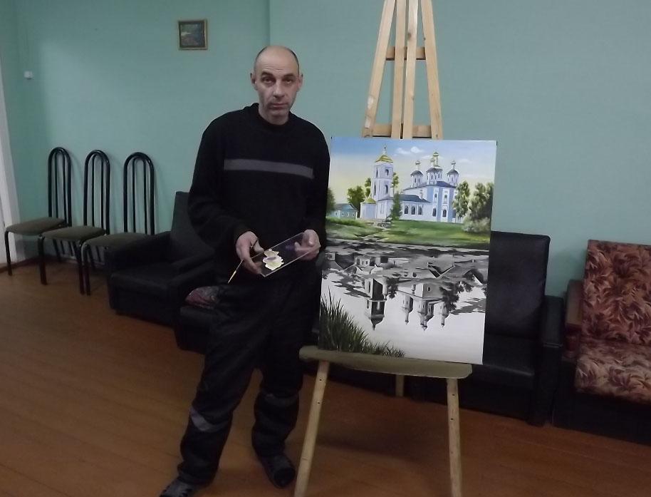 Картина заключенного из Шексны представит область на Всероссийском конкурсе