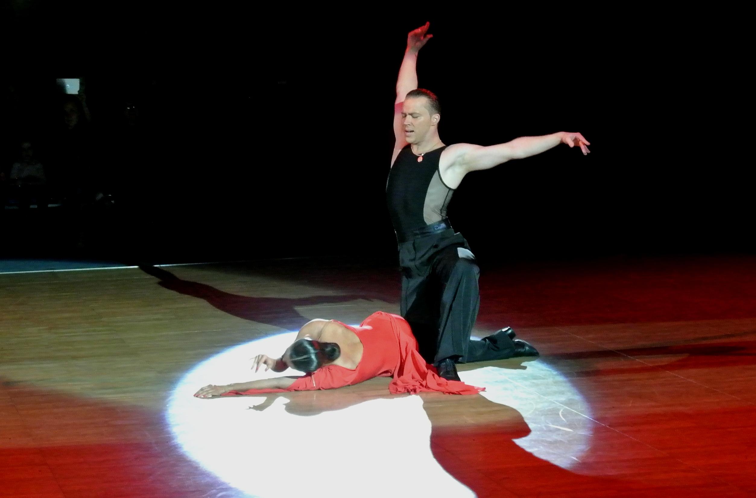 Анна Кузьминская и Андрей Зайцев вновь покорили зрителей своими танцами
