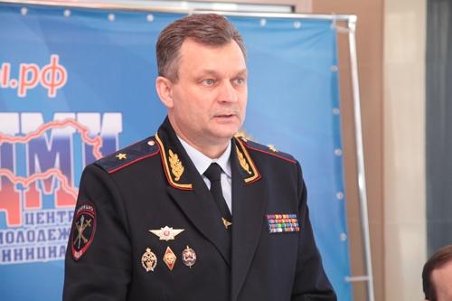 Новым начальником УМВД по Вологодской области назначили Виктора Пестерева