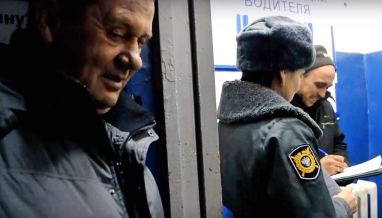 Вологодского дальнобойщика арестовали на Бакланке