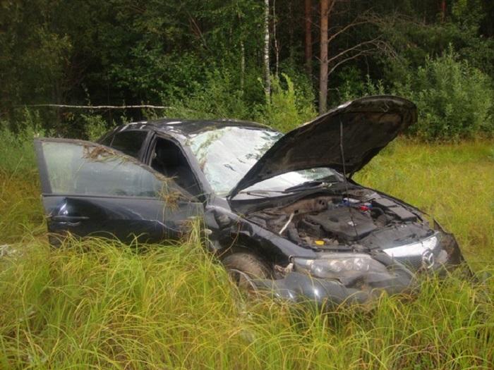 Рискованный обгон в зоне знака «Обгон запрещен» привел к аварии в Никольском районе