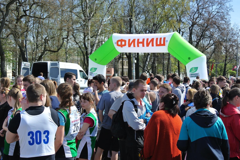 В Вологде прошла легкоатлетическая эстафета, посвященная 70-летию Победы