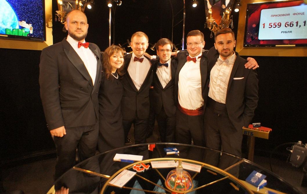 Команда МИД России, в которой играет вологжанин, выиграла телеигру «Что? Где? Когда?» со счетом 6:1