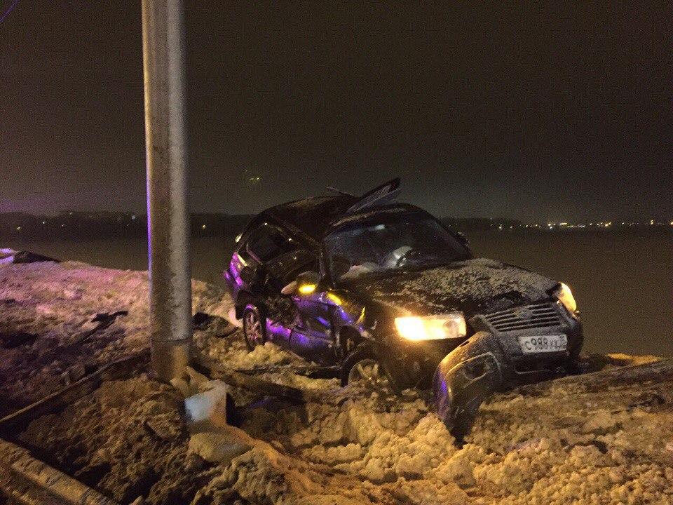 Водитель, из-за которого на Октябрьском мосту в Череповце погибла девушка, был пьян