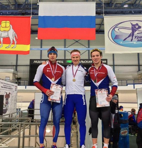 Череповчанин завоевал золото всероссийских соревнований по конькобежному спорту