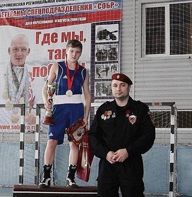 Сокольчанин стал победителем всероссийских соревнований по боксу