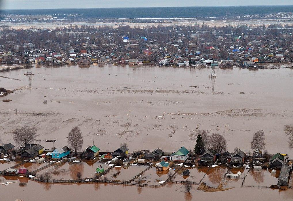 наводнение в великом устюге фото чего