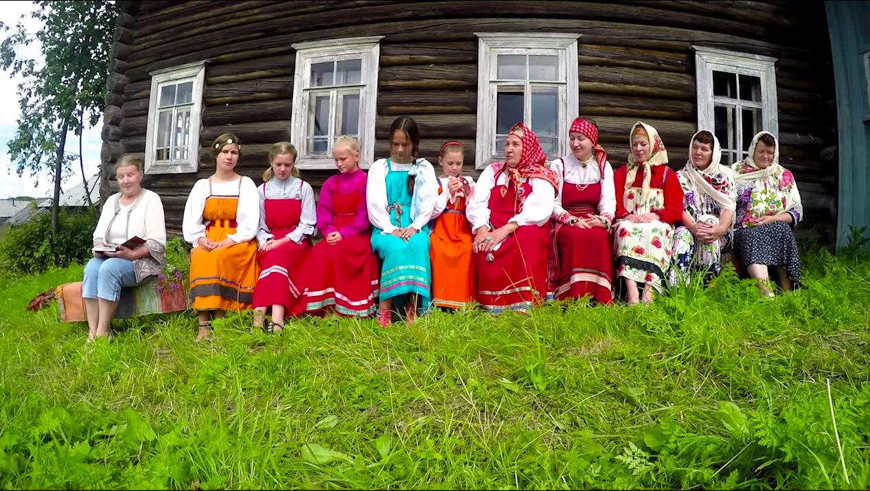О деревне Илатовской Великоустюгского района сняли фильм