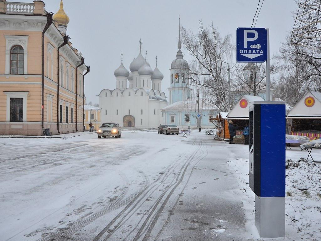 В Вологде начали устанавливать паркоматы