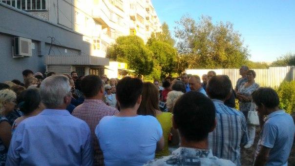 Жители Фрязиновской собрались снова писать Президенту