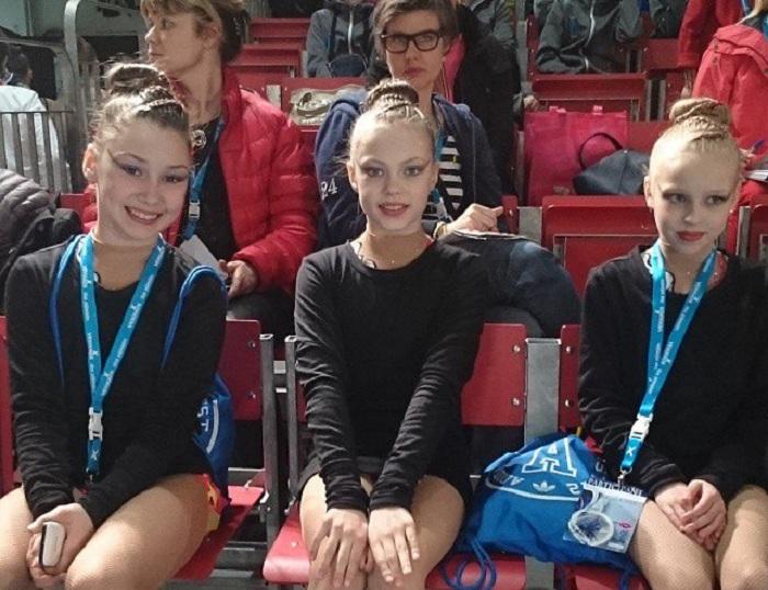 Вологодская сборная по эстетической гимнастике стала четвертой на международных соревнованиях в Финляндии