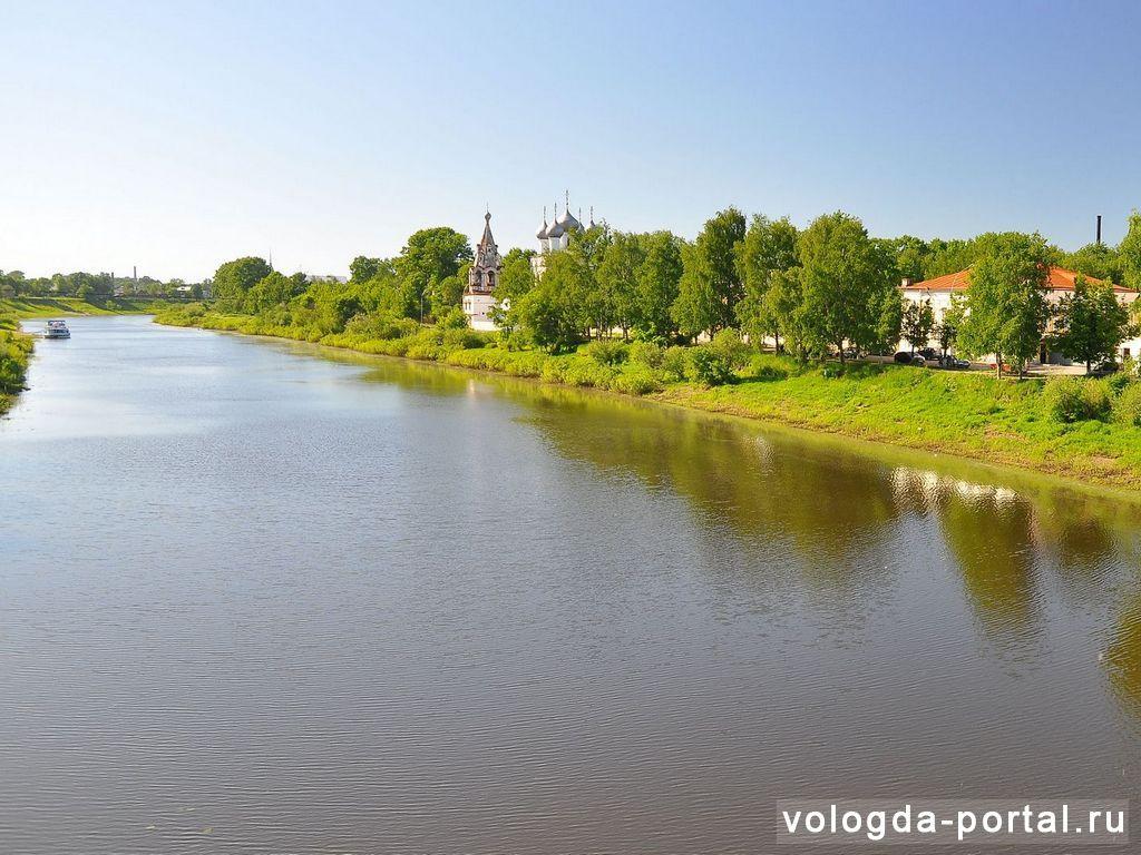 В Вологде разрабатывают проект по расчистке дна реки