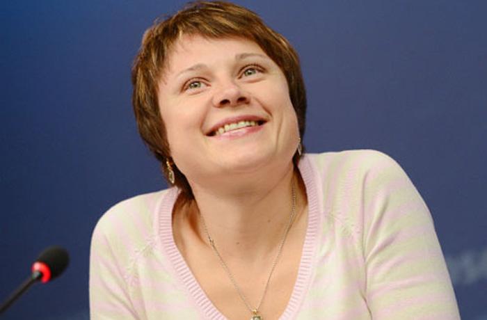 Анна Богалий получила бронзовую медаль за вклад в развитие биатлона