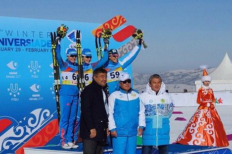 Вологодская лыжница завоевала четыре медали на Универсиаде-2017