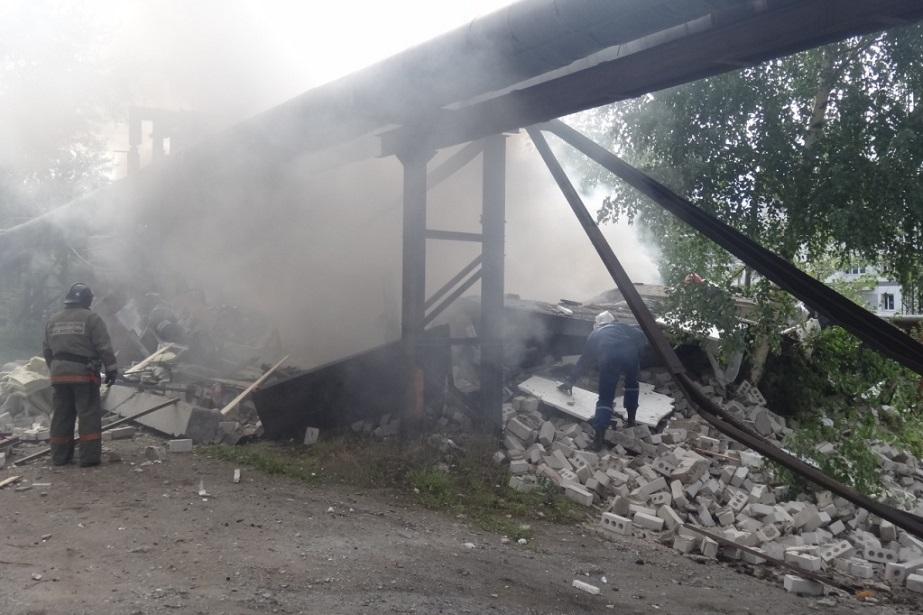 Причиной взрыва в гараже в Череповце мог стать некачественно заправленный газовый баллон