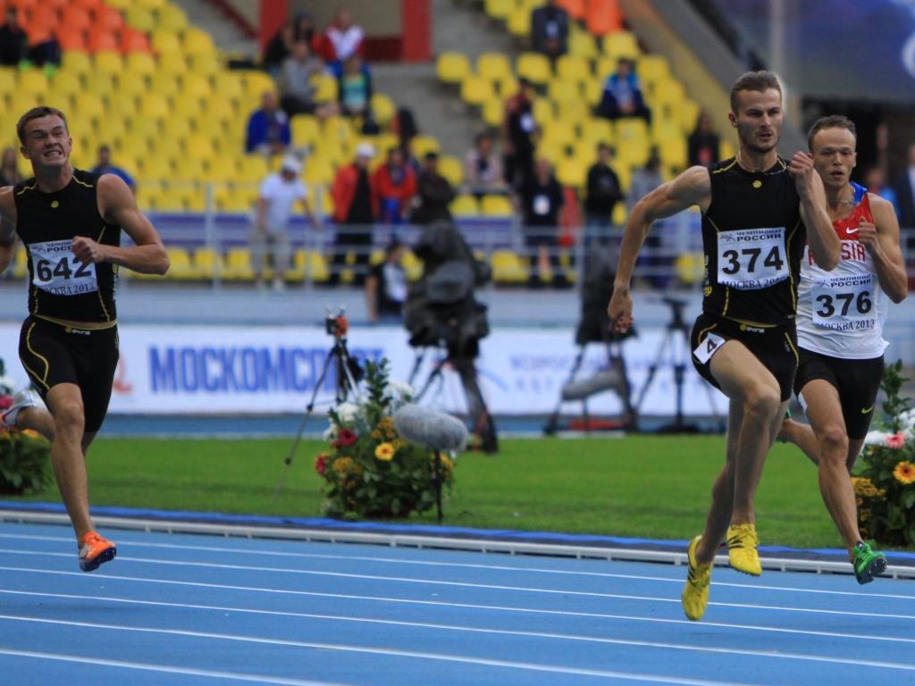 Вологжанин Константин Петряшов стал чемпионом России по легкой атлетике