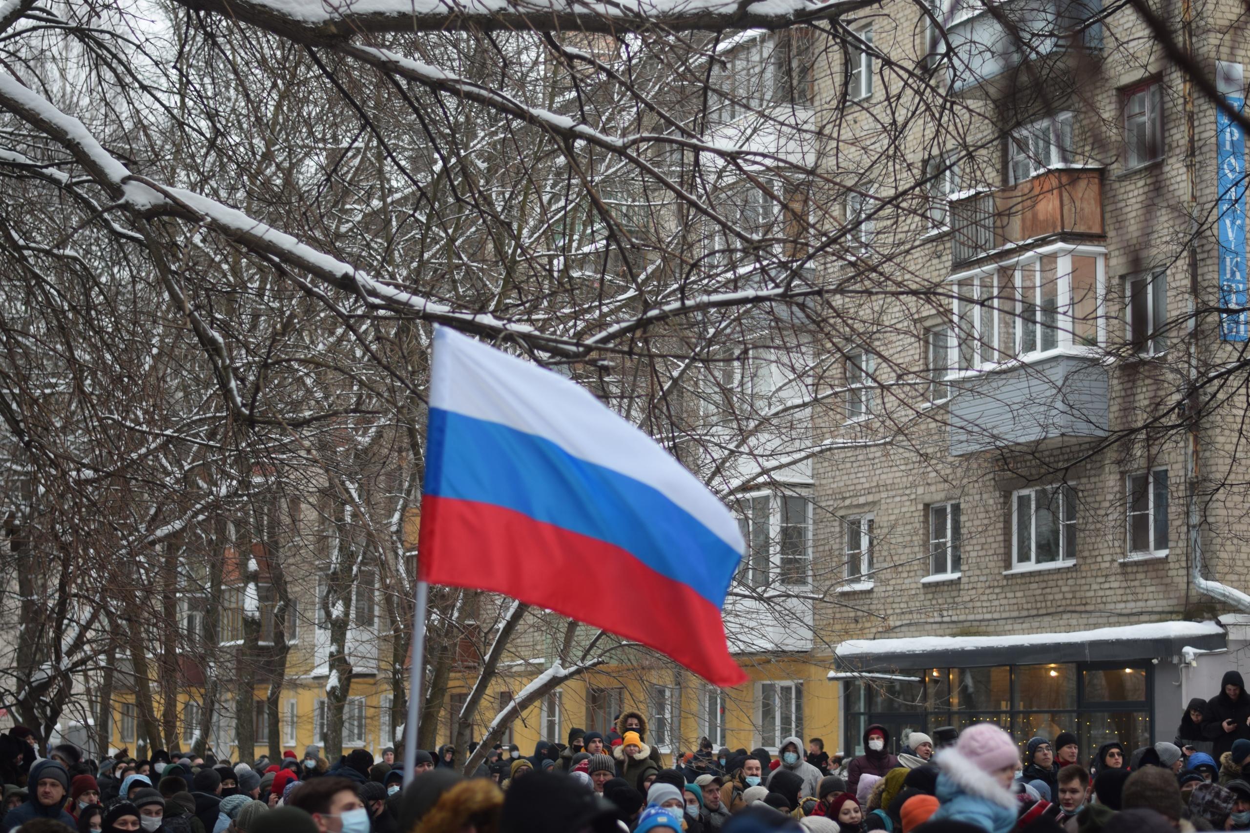 День протеста: как в Вологде прошла акция в поддержку политика Алексея Навального