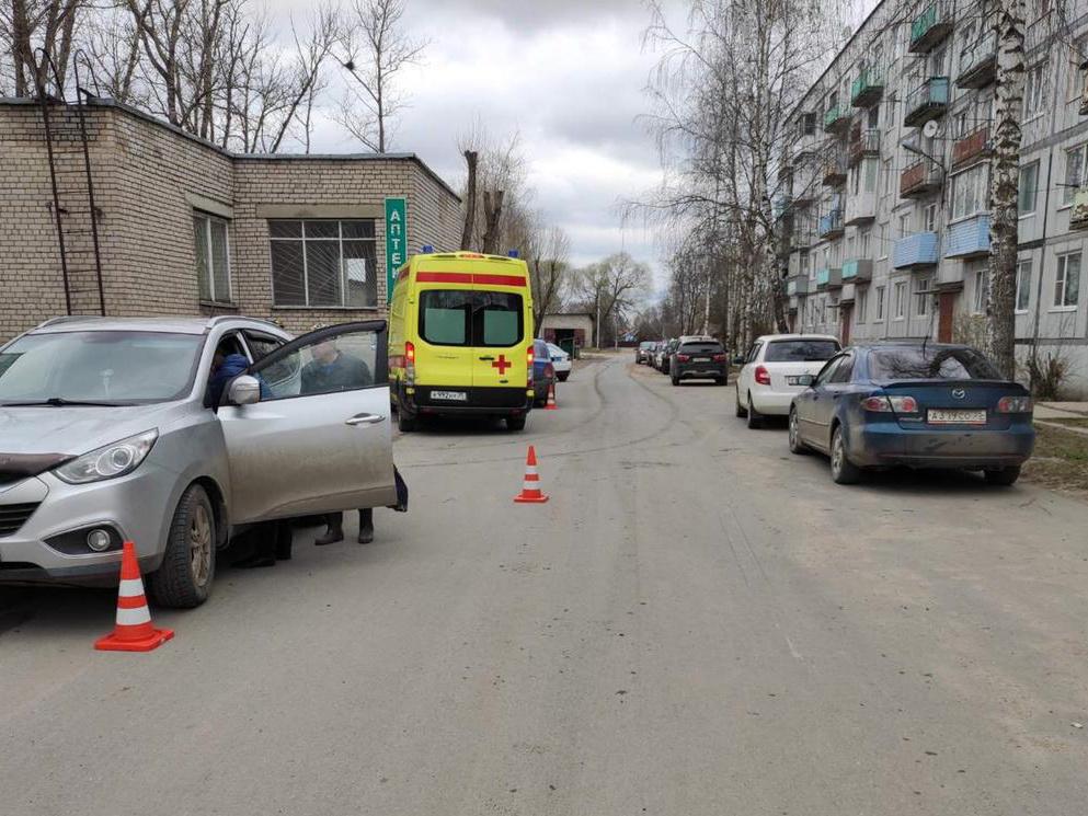В Соколе на дороге сбили 7-летнего мальчика