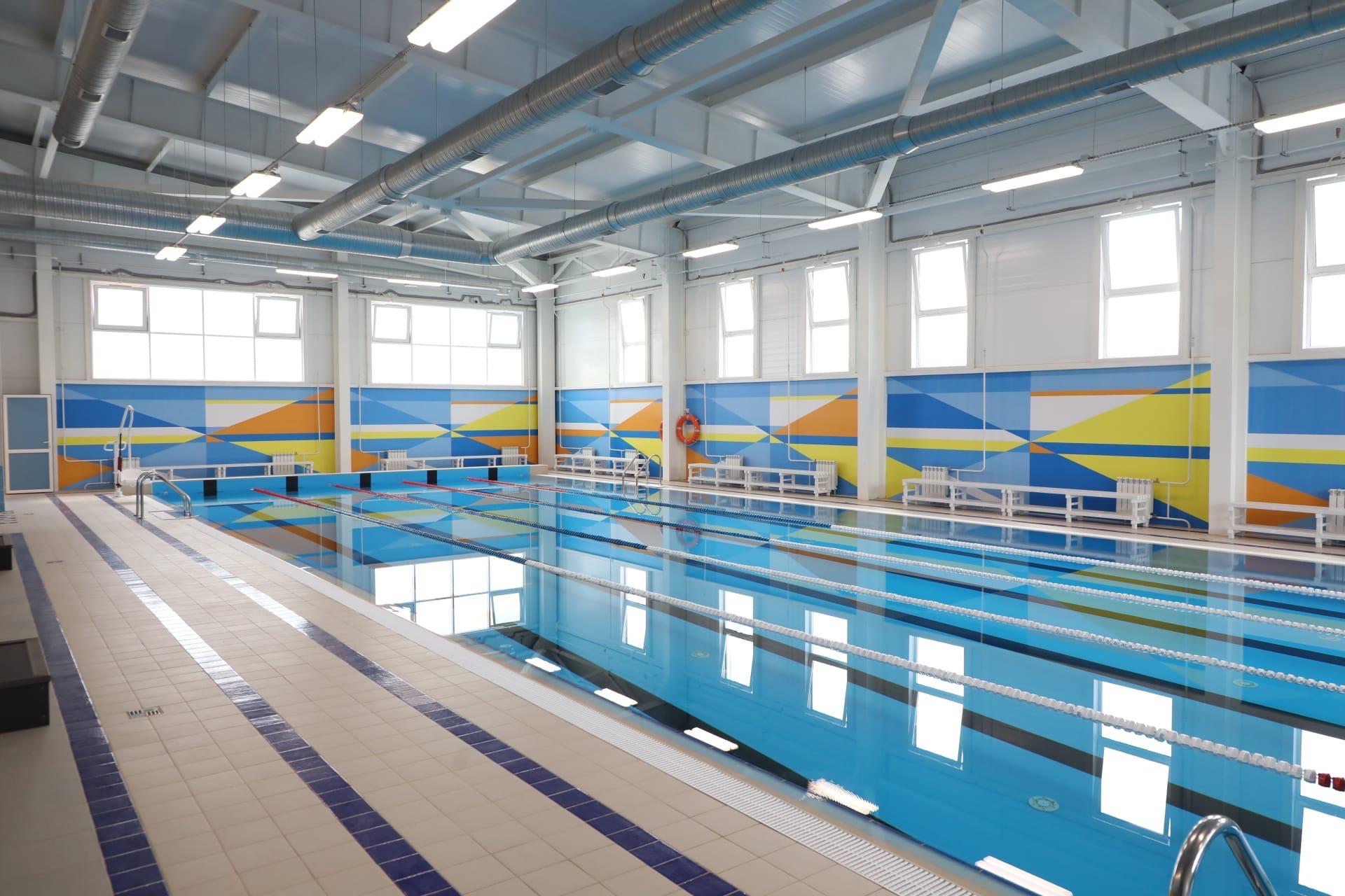 ВВологде на полгода позже срока завершили строительство бассейна настадионе «Витязь»