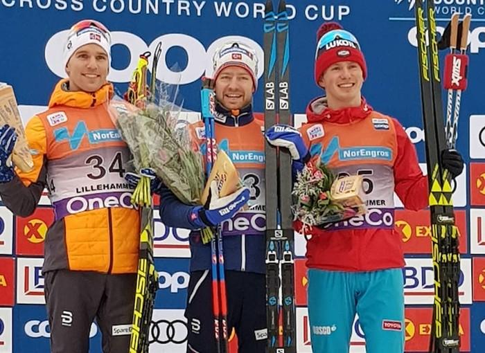 Вологодский лыжник Денис Спицов стал призером Кубка мира, выступая за Тюменскую область