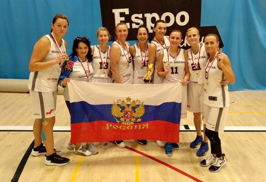Вологжанка Зоя Тутуева стала чемпионкой мира по максибаскетболу