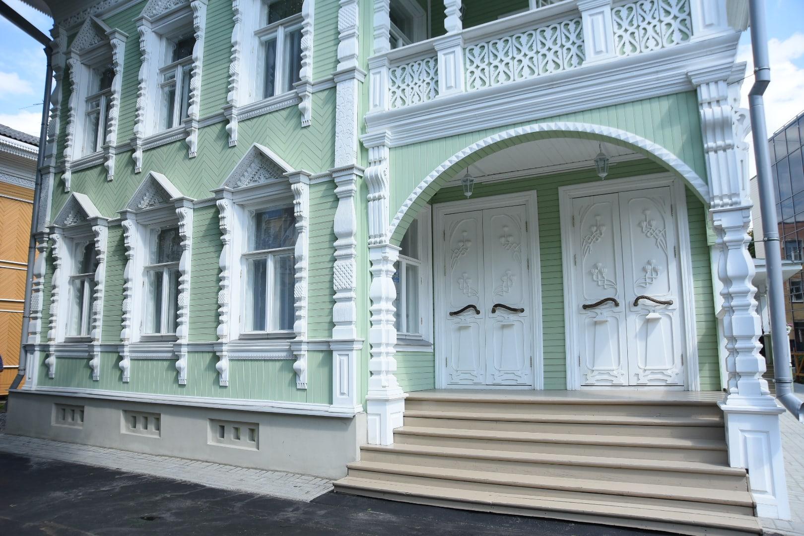 ВВологде спустя семь лет после начала работ завершили реставрацию «Дома кружевниц»